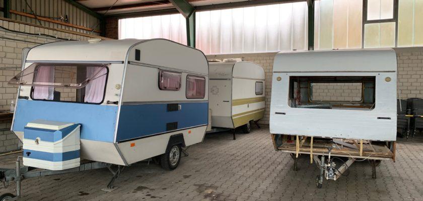 Alte Wohnwagen pimpen