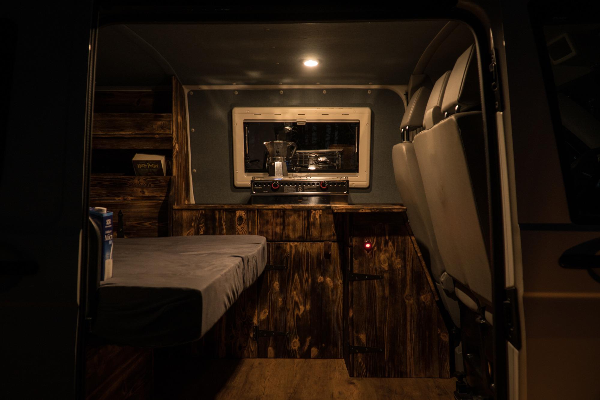 VW T5 Camper Innenausbau Küche