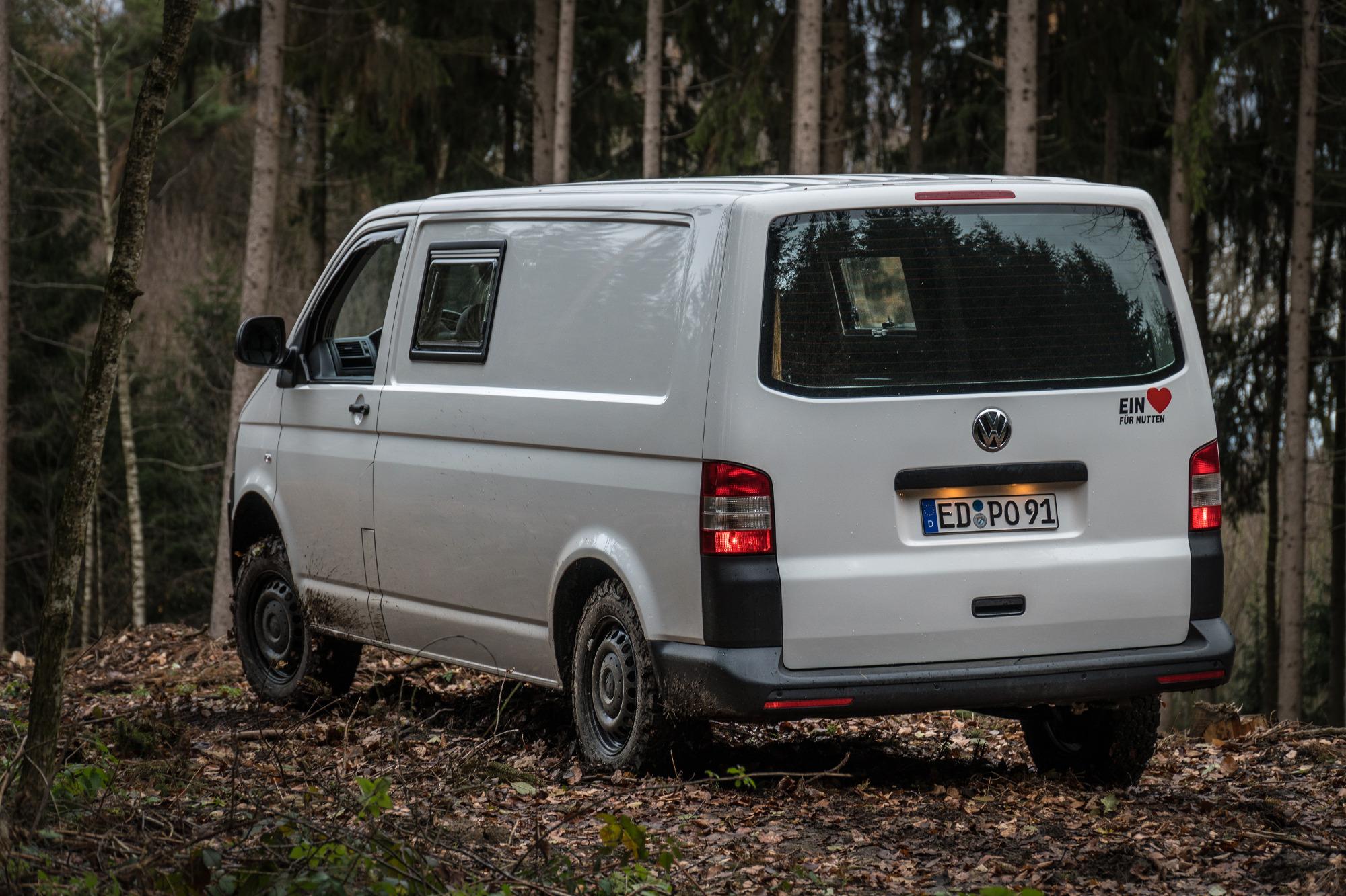 VW T5 Camper Offroad