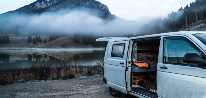 VW T5 Camper seitlich