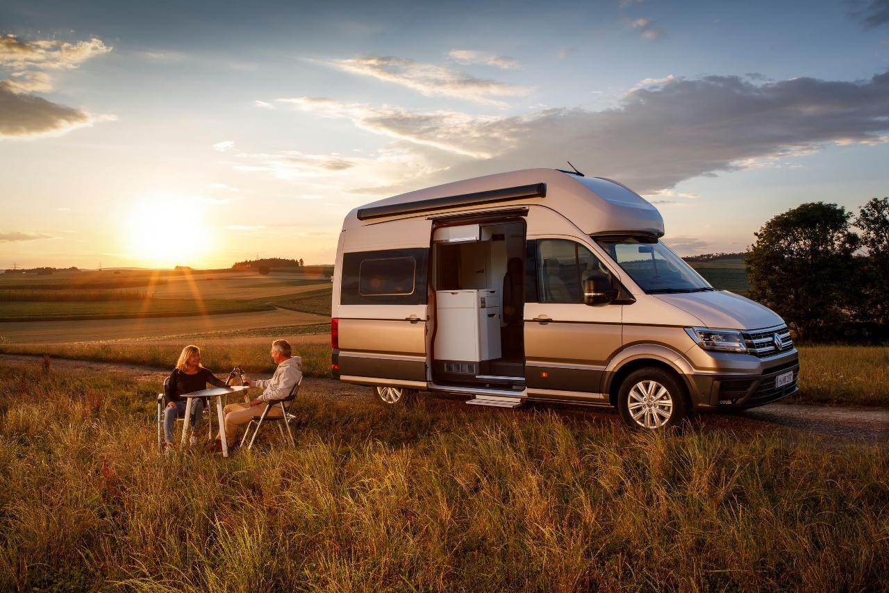 VW Grand California Camping
