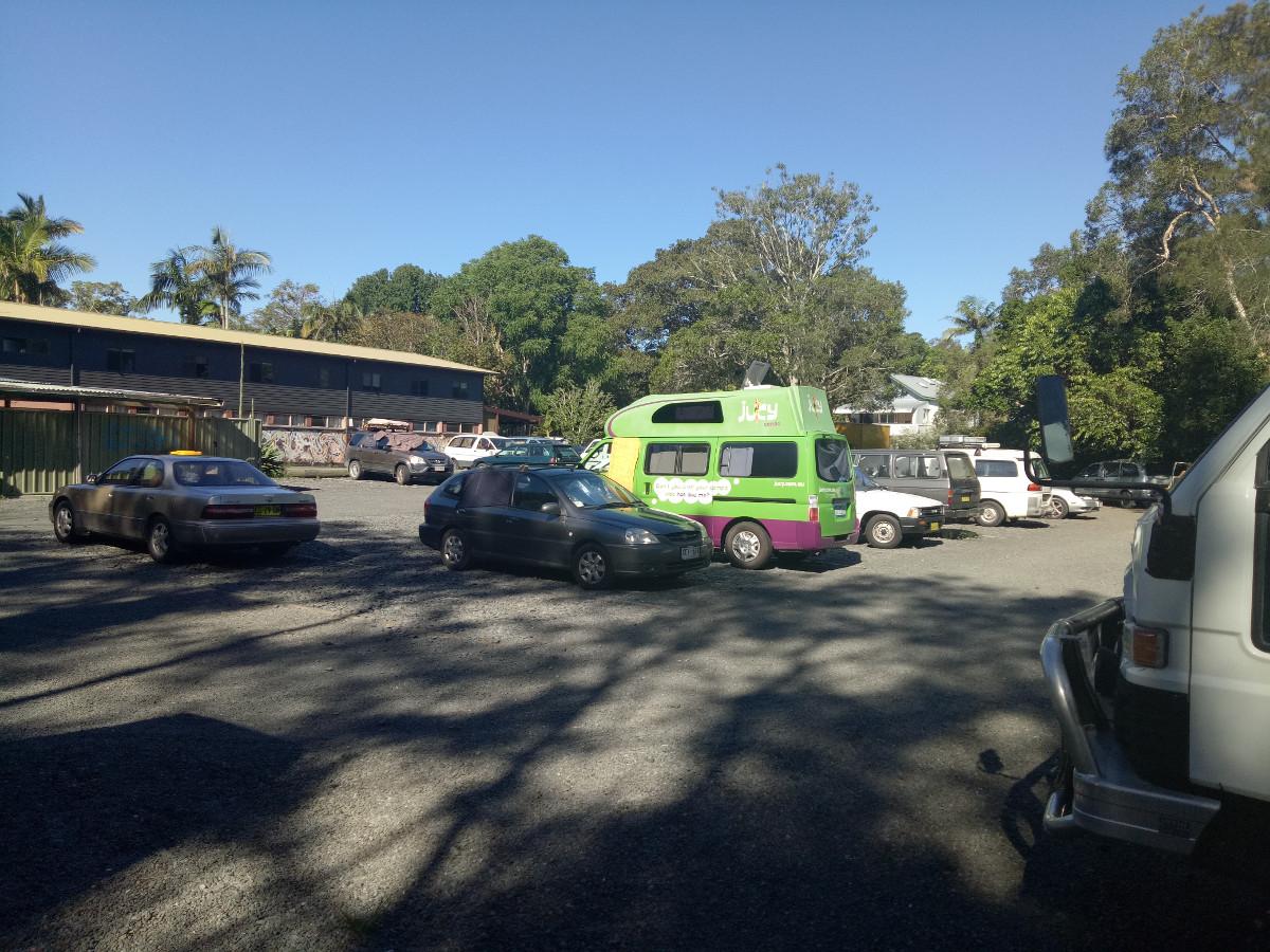 Übernachtungsplatz Australien Roadtrip