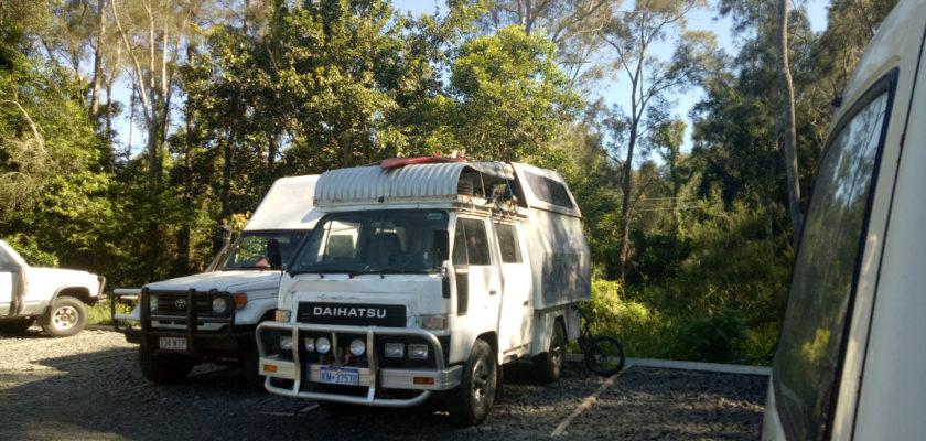 Schlafplatz Australien Roadtrip