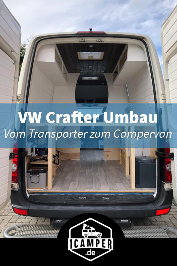 Camperausbau eines VW Crafters