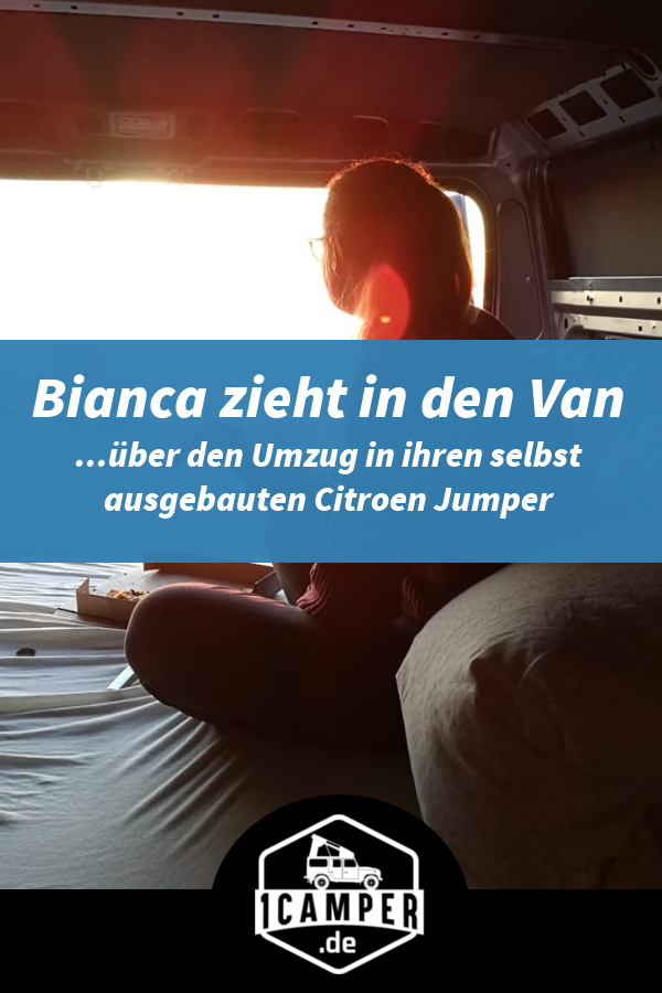 Vanlife im selbst umgebauten Citroen Jumper Campervan