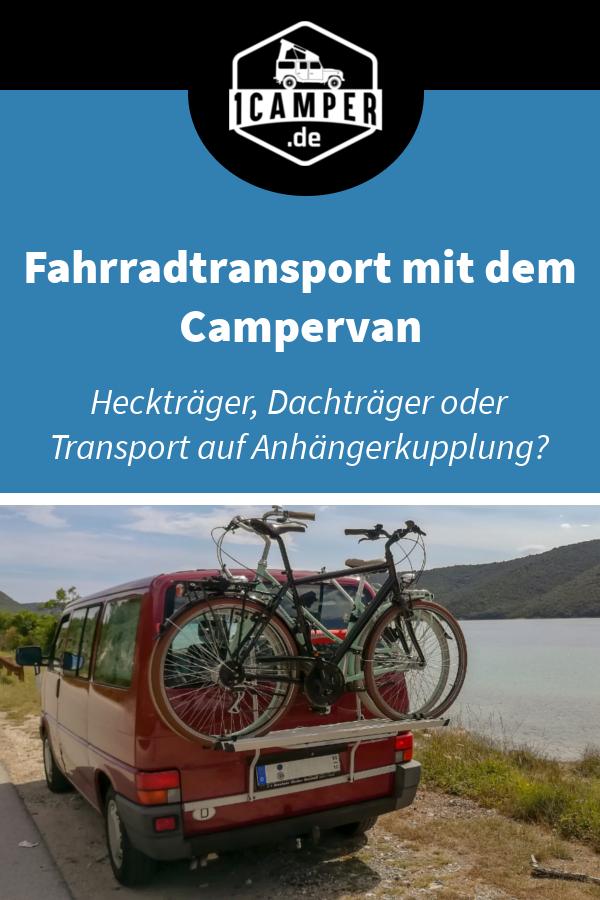 Fahrradtransport mit VW Camperbus