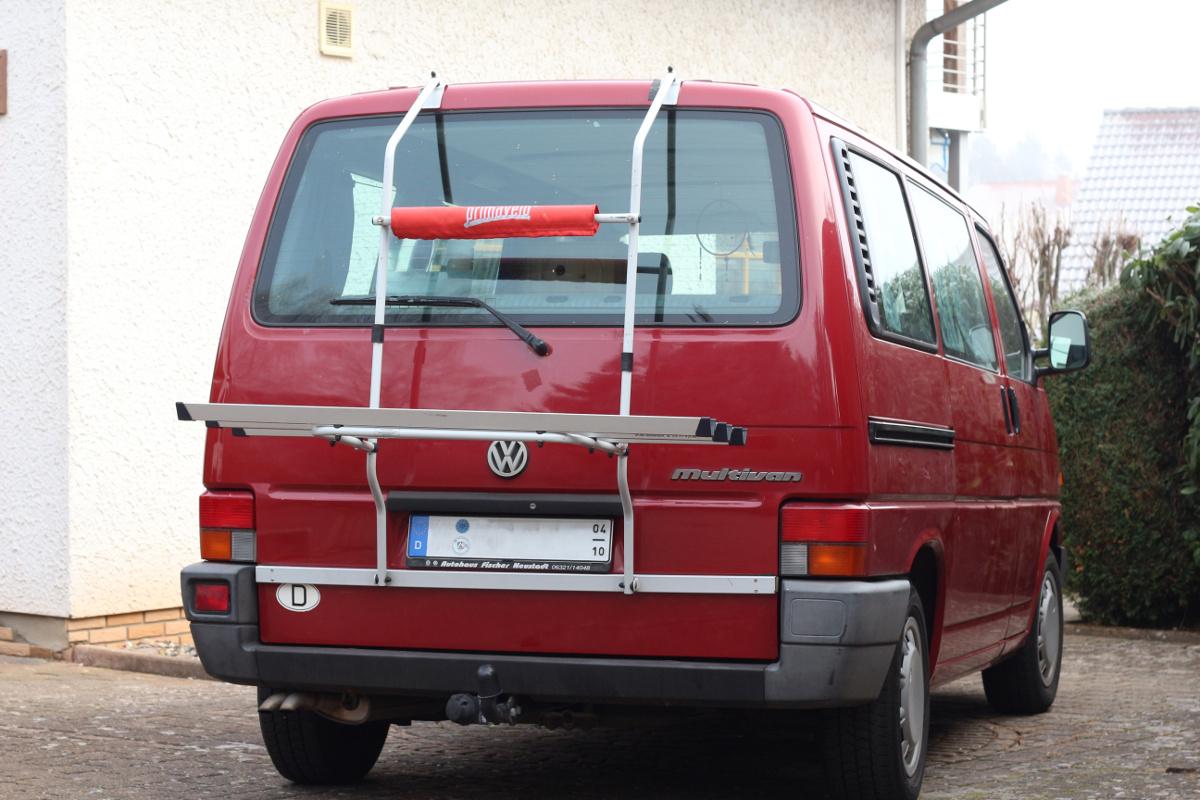 VW T4 mit Heckklappenträger