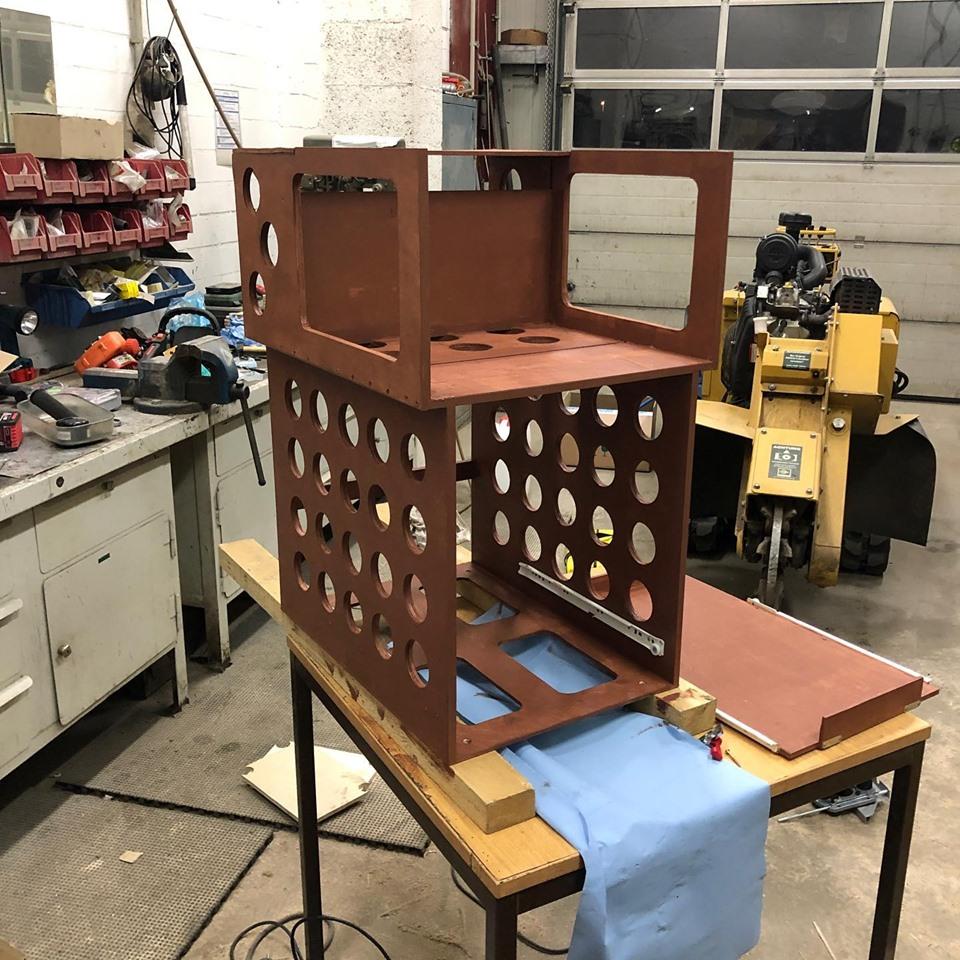 Innenausbau aus Holz für Jeep Wrangler Unlimited JK