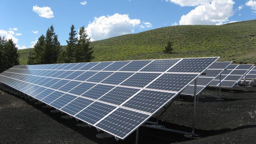 Stromversorgung mit nachhaltiger Solarenergie