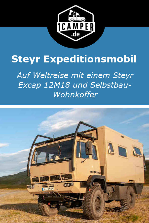 Steyr Excap 12M18 Expeditionsmobil