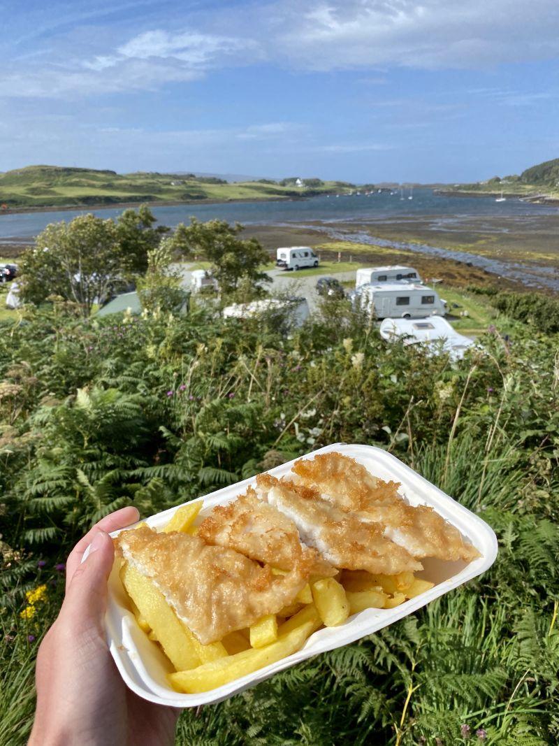 Isle of Skye Fish and Chips