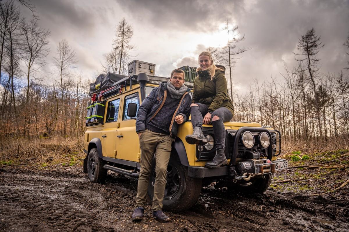 Land Rover Defender TD5 Camping Umbau